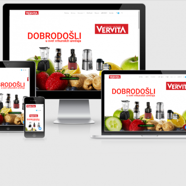 Vervita Website S&B Media